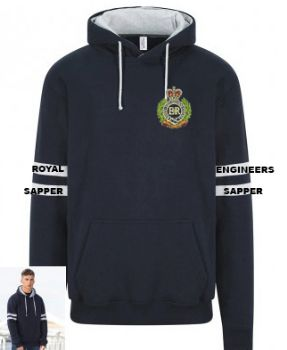 TWO TONE HOODIE EMBROIDERED RE/SAPPER